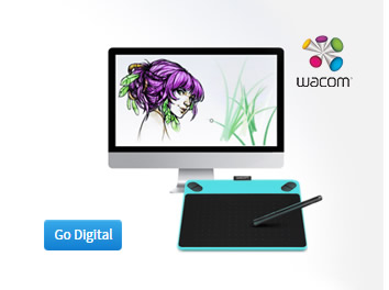 Wacom digital drawing boards and tablets