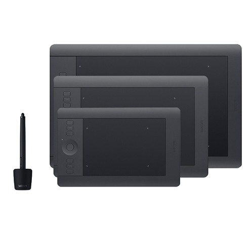 Intuos Pro family - small, medium and large