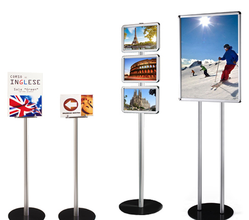 Sign board stands