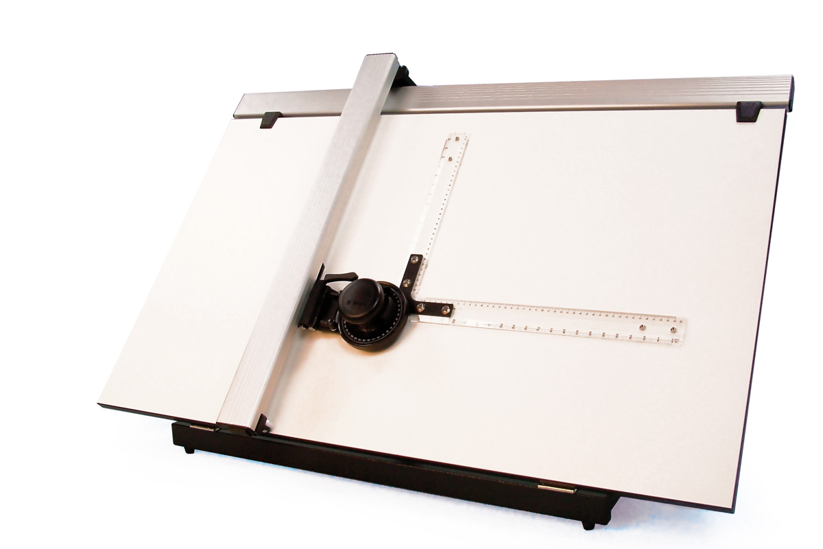 Priory Drafting Table With 360 Degree Machine