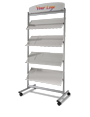 A4 standing display rack