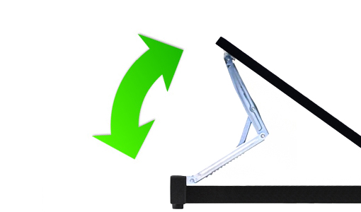 Desktop Frame Angle Adjustment