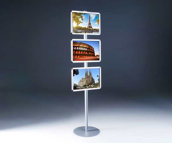 Buy totem snap frame stand 3x a3 size for Totem stand