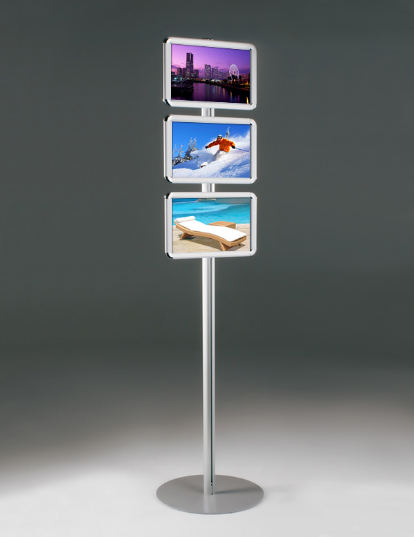 Buy totem snap frame stand 3x a4 size for Totem stand
