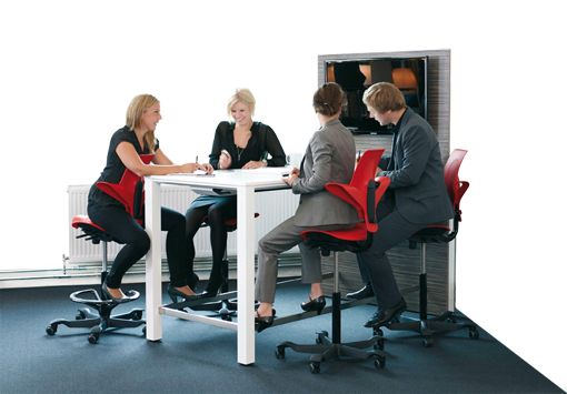 High Stools for Meeting Tables