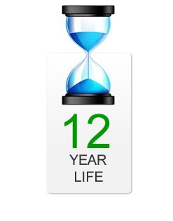 12 Year life time