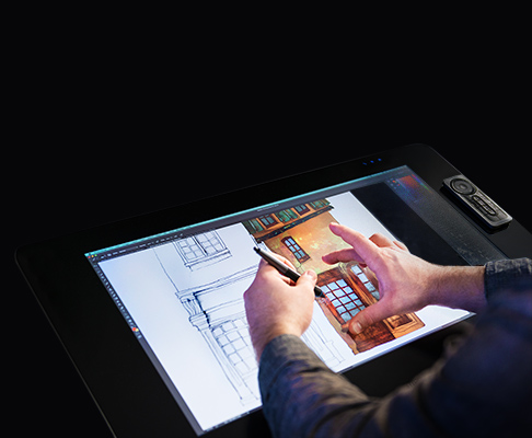 Cintiq 27 inch pen and touch display