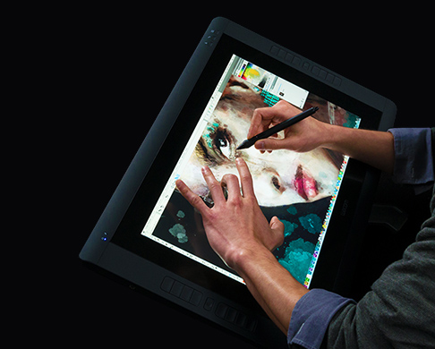 Cintiq 22 inch pen with multi-touch
