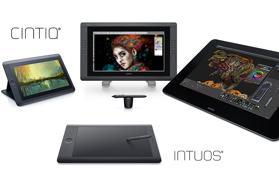 Meet the Cintiq and Intuos Professional family