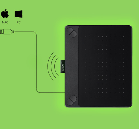 Connect by USB or wireless adapter to your PC or MAC