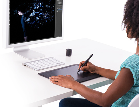 Intuos Pro allows you to express your creativity without boundaries