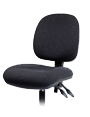 Deluxe upholstered draftsmans chair