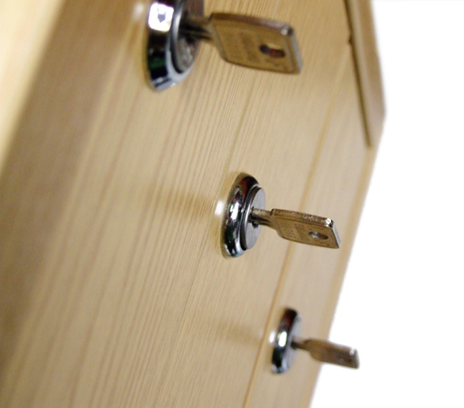 Lockable Drawers