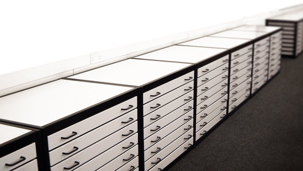 Metal Plan Chests for Classrooms