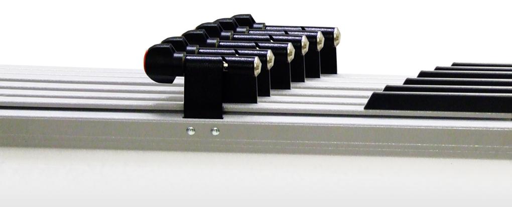 Vistaplan wall rack a0 a1 plan holder racks orchard uk for Architectural plan racks