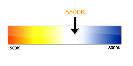 5000K Colour Correct Light Tubes