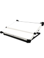 Priory Beam Tec desk top light box with adjustable angle stand and parallel motion.