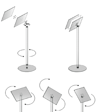 Stand Assembly in 5 pieces