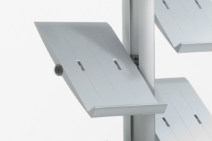 A4 Tec Brochure Shelf